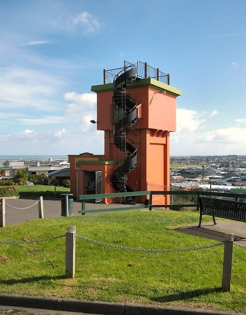 Durie Hill, Lift Tower. (2013)