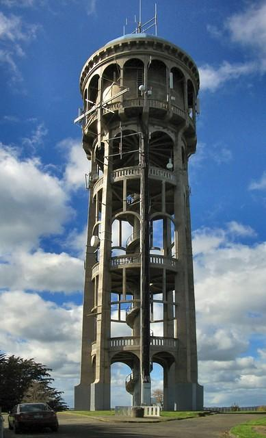 Water Tower on Bastia Hill, Wanganui