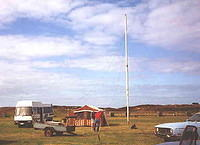 "The inverted ""V"" antennas for 80m & 40m bands and operating camper van and tent"