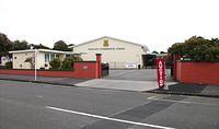 The venue, Wanganui Intermediate School